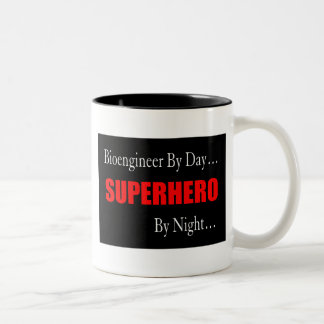 Superhero Bioengineer Two-Tone Coffee Mug