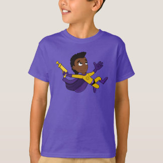 Superhero boy cartoon T-Shirt