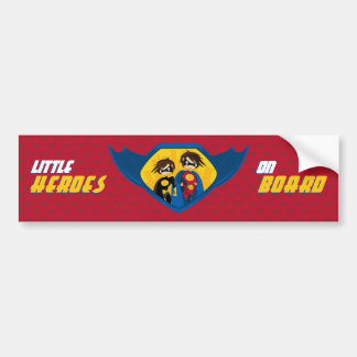 Superhero Bumper Sticker