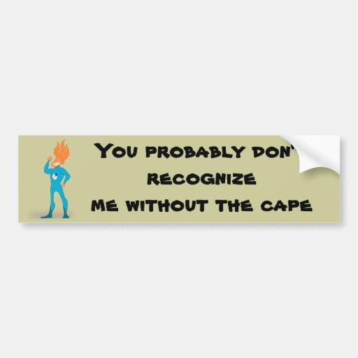 Superhero Bumper Stickers