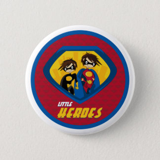 Superhero  Button Badge