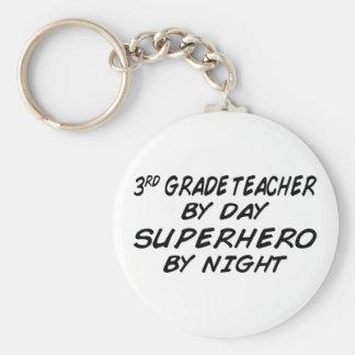 Superhero by Night - 3rd Grade Key Ring