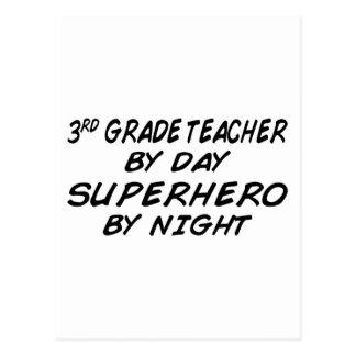 Superhero by Night - 3rd Grade Postcard