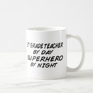 Superhero by Night - 5th Grade Coffee Mug