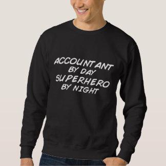 Superhero by Night - Accountant Sweatshirt