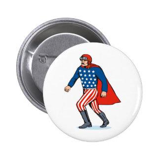 superhero canon ball man buttons