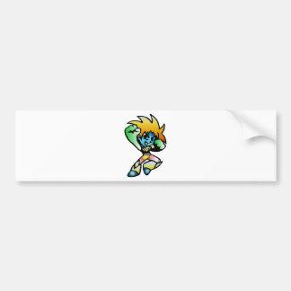 Superhero Captain Quasar Bumper Stickers
