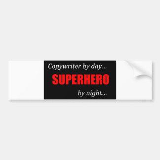 Superhero Copywriter Bumper Sticker
