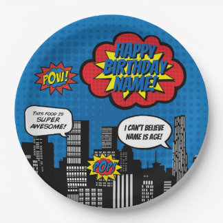 Superhero Custom Name Plate