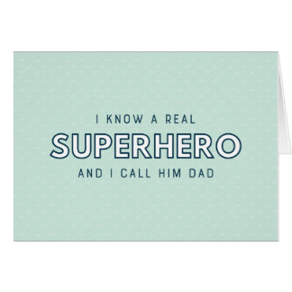 Superhero Dad | Father's Day Card