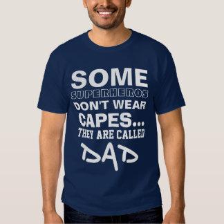 Superhero dad tee shirts