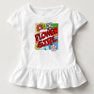Superhero Flower Girl Toddler T-Shirt