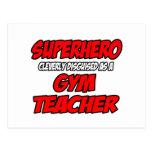 Superhero...Gym Teacher Postcard