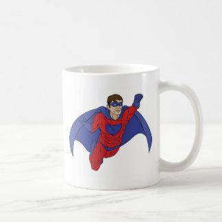 Superhero Illustration Coffee Mugs