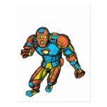 SUPERHERO IN ROBOT ARMOR POST CARDS