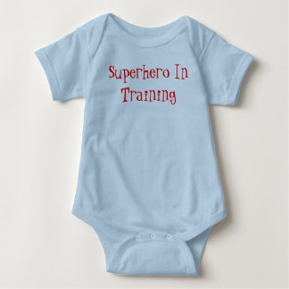 Superhero In Training Baby Bodysuit