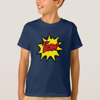 superhero logo t-shirt