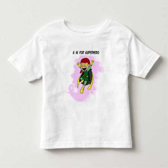 Superhero Lucy Toddler Tee