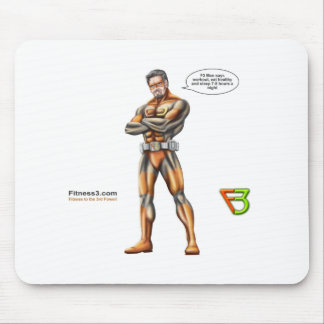 Superhero mouse pad