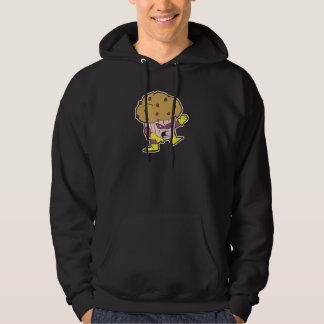 superhero muffin man character hoodie