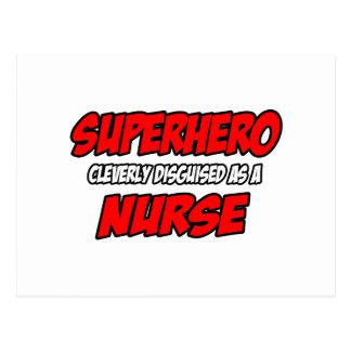 Superhero...Nurse Postcard