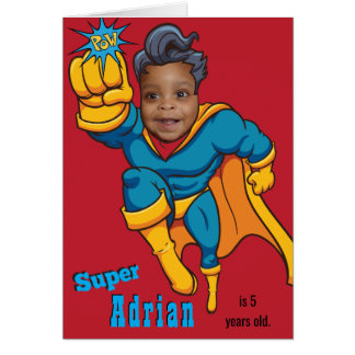 Superhero Photo Template Specialized Birthday