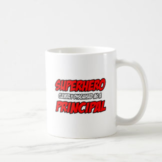 Superhero...Principal Basic White Mug