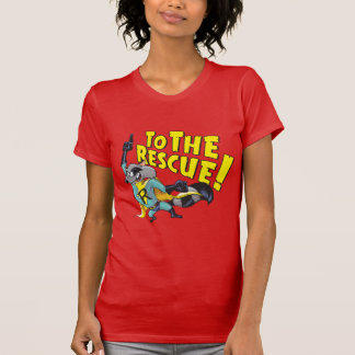 Superhero Racoon To The Rescue T-Shirt