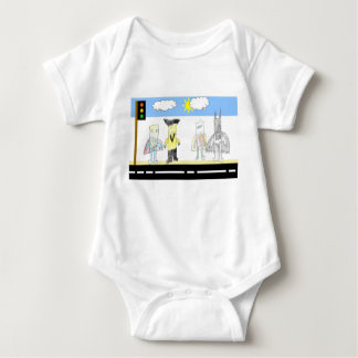 Superhero series #1 baby bodysuit
