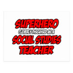 Superhero...Social Studies Teacher