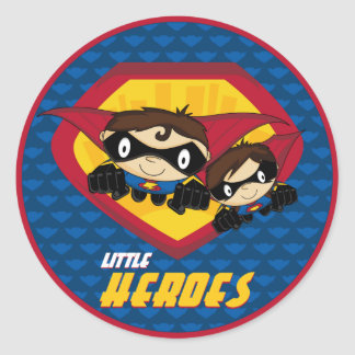 Superhero Sticker Sheet