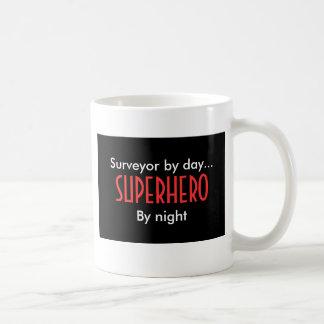 Superhero surveyor basic white mug