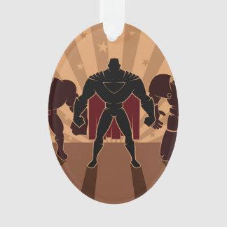 Superhero Team Silhouettes