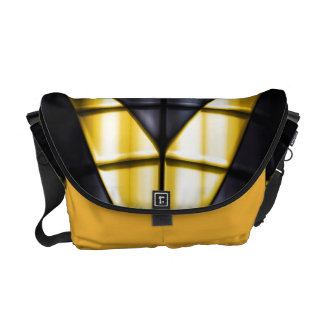 Superheroes - Black and Yellow Courier Bags