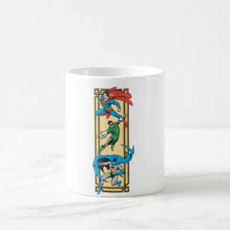 Superheroes In Action Coffee Mug