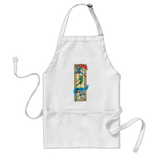 Superheroes In Action Standard Apron