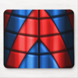 Superheroes - Red and Blue Mouse Pad
