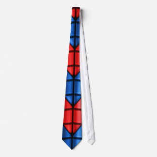 Superheroes - Red and Blue Tie