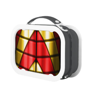Superheroes - Red and Gold Lunch Box