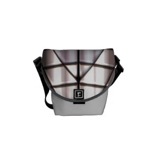 Superheroes - Silver Courier Bags