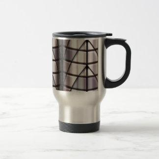 Superheroes - Silver Stainless Steel Travel Mug