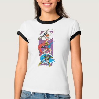 Superheroines In Action T-Shirt