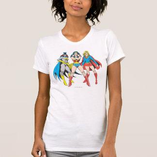 Superheroines Pose Tshirts