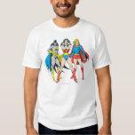 Superheroines Pose Tshirt