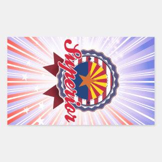 Superior, AZ Rectangular Sticker