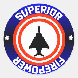 Superior Firepower Round Sticker