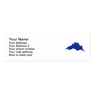 Superior Great Lakes Pack Of Skinny Business Cards