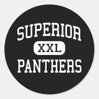Superior - Panthers - Junior - Superior Arizona Round Sticker