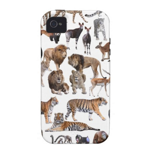 Superior product of animal of the world iPhone 4/4S cover