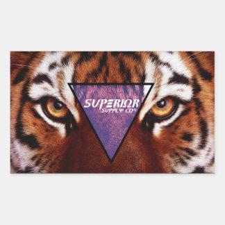 Superior Tiger Sticker